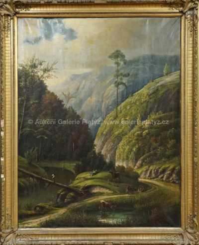Ludvík František Duchoslav - Šárecké údolí