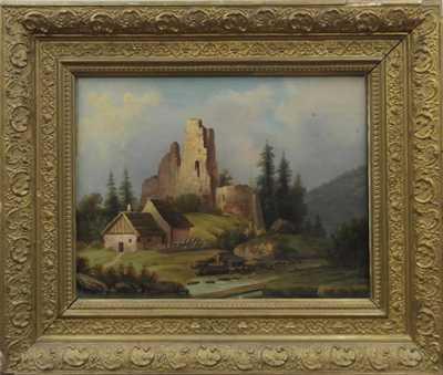 Hugo Ullik - Zřícenina hradu