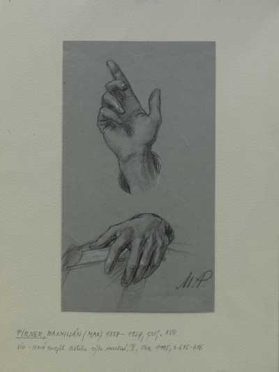 Maxmilian Pirner - Studie rukou