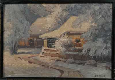 Karel Antropius - Slunce na sněhu