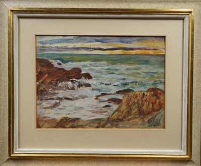 Antonín Hudeček - Mořské pobřeží