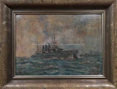 Vilém  Kreibich - Konvoj bitevních lodí