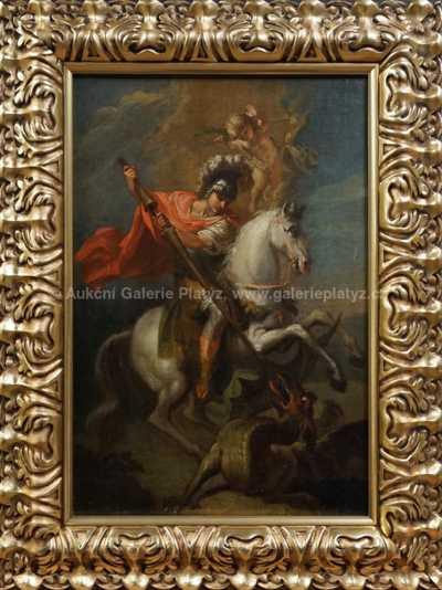 Neznačeno - Sv. Jiří s drakem