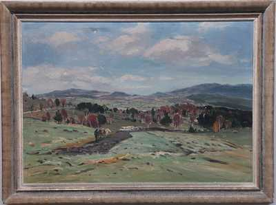 Josef Krejsa - Krajina u Husince
