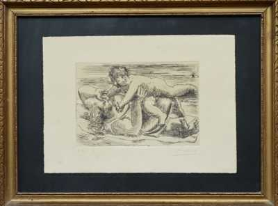 Pablo Picasso - Matka s dítětem