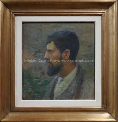 Hugo Boettinger - Portrét Jana Preislera