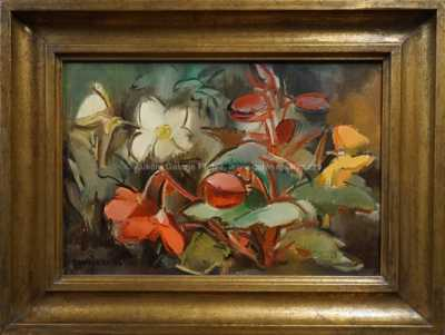 Julie Mezerová-Winterová - Květinové zátiší