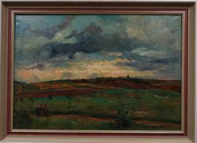 Karel Jan Sigmund - Západ slunce