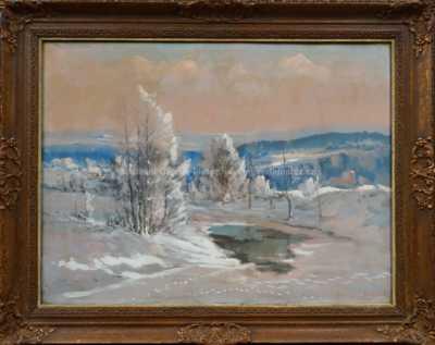 Karel Balíček - Zimní tůň