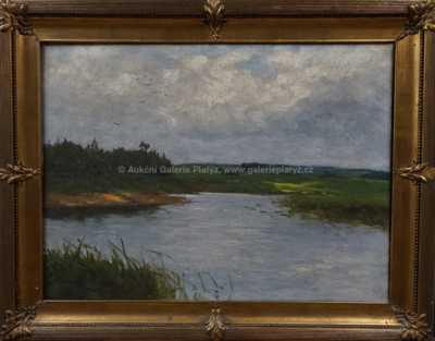 Vojtěch Hynek Popelka - Na řece