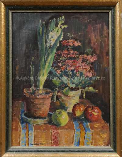 Ladislav Placatka - Květinové zátiší