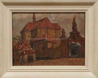Alexander J. Pelíšek - Na Strahově
