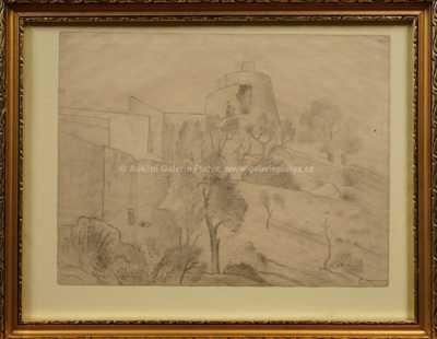 Othon Coubine - Studie rotundy v Simiane