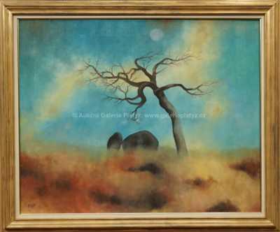 Ota Janeček - Strom a kameny