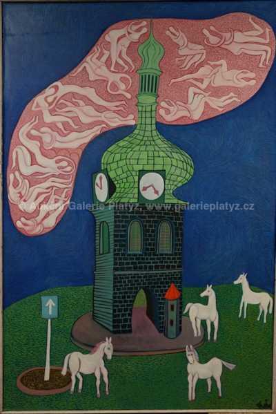Karel Chaba  - Růžový mrak
