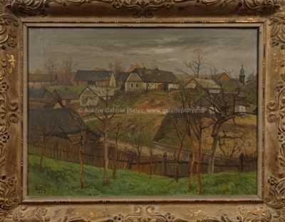 Josef Krčil - Motiv z venkova