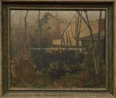 Emanuel Famíra - Zahrada před zimou