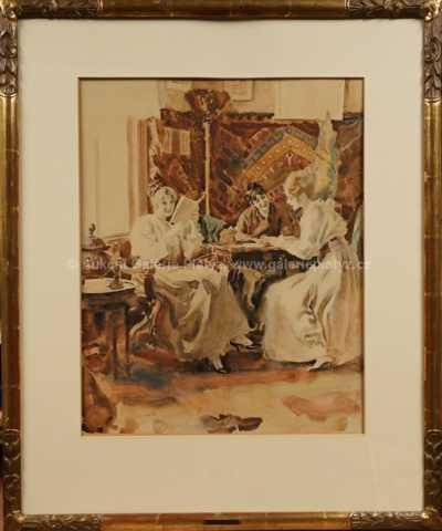 Josef Loukota - Dívky v kavárně