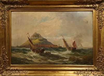Autor neurčen - Na rozbouřeném moři
