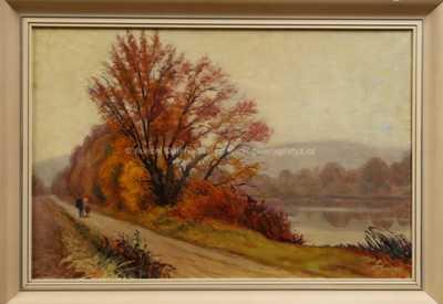 Otakar Štembera - U řeky