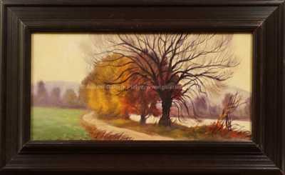 Otakar Štembera - Podzim u Berounky