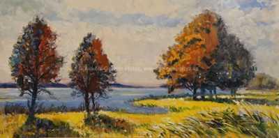 Otakar Štembera - Podzim u vody