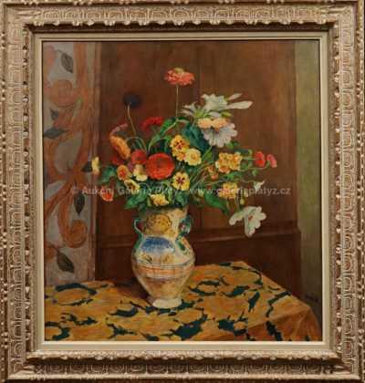 Emil Orlík - Květinové zátiší