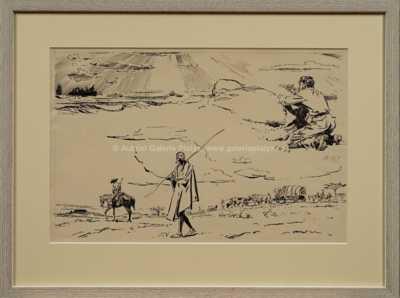 Zdeněk Burian - Návrhy ilustrací