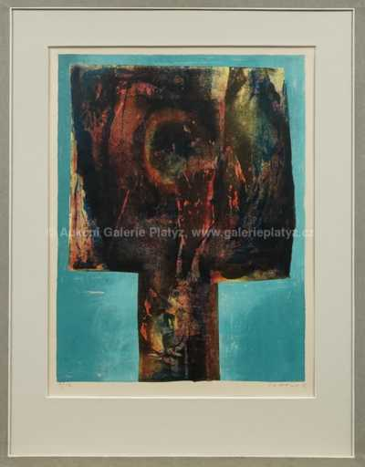Josef  Istler - Modrá hlava