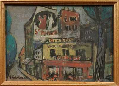 František Emler - Pařížský motiv I.