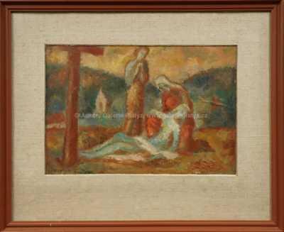 Svatopluk  Souček - Snímání z kříže