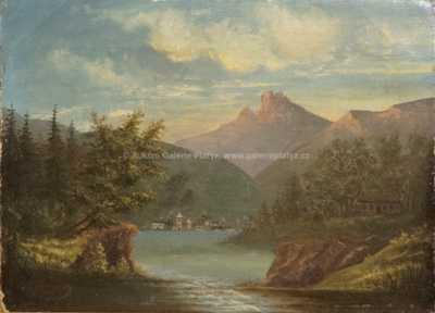 Neznačeno - Jezero pod horami