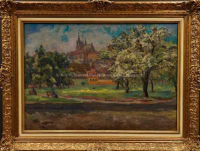Otakar Marvánek - Pod Pražským hradem
