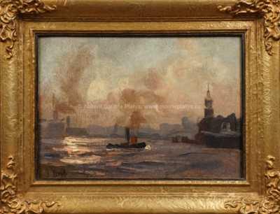 Josef Král - Parník na řece