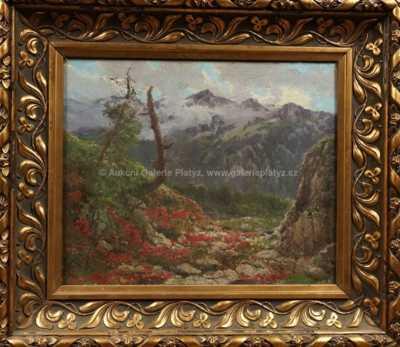 Karel Klár - Alpská krajina