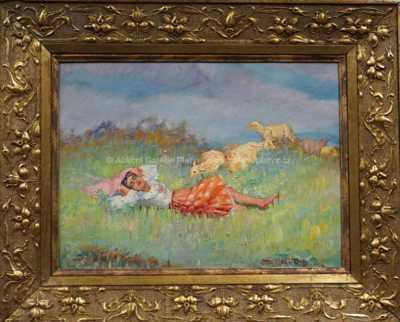 Otto Molitor - Pasačka oveček
