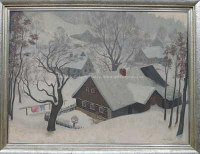 Rudolf Karasek - Zimní motiv