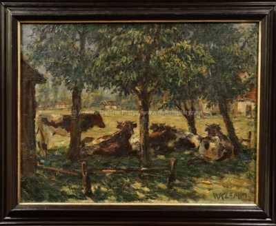 Walther Klemm - Na pastvě