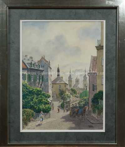 Walther Klemm - Pohled na město