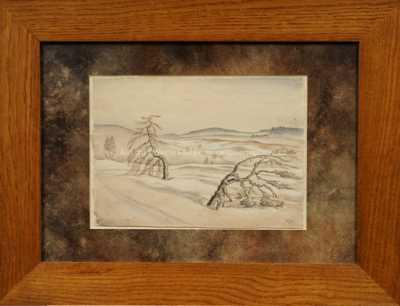 Franz Gruss - Staré stromy