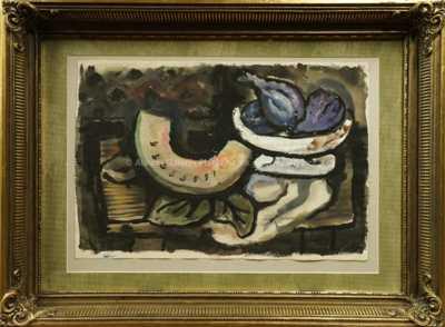 Alfréd Justitz - Zátiší s ovocem