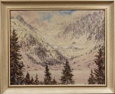 František Líbal - Tatry v zimě