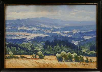 Antonín  Augusta - Pohled do krajiny