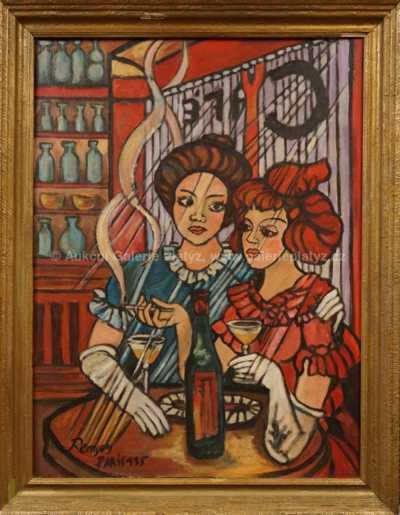 Autor neurčen - Dívky v kavárně
