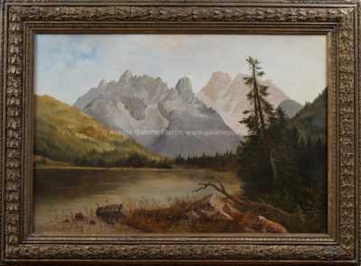 Autor neurčen - Alpské jezero