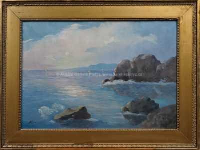 Karel Hodr - Slunce nad mořem