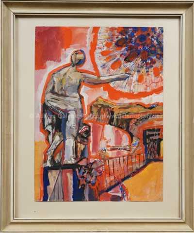 Josef Liesler - Symbolistický motiv