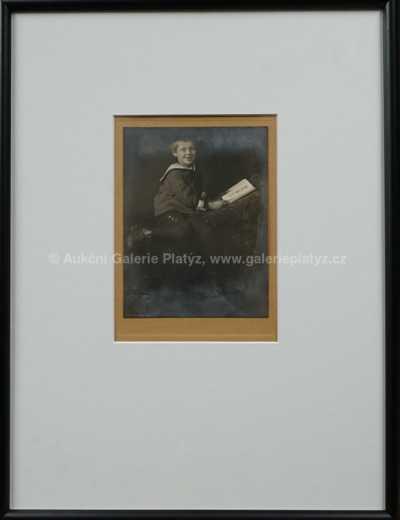 František Drtikol - Chlapec s knihou