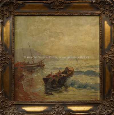 Josef  Svoboda - Na moře
