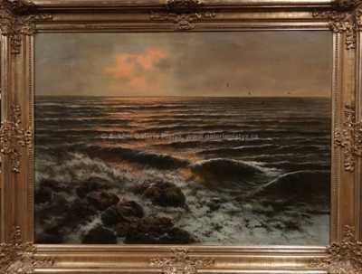 Autor neurčen - Mořský příboj